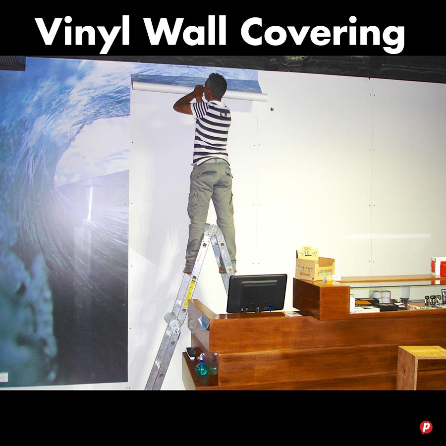 Vinyl Wall Covering : Printing cape town digital print and design hot ink