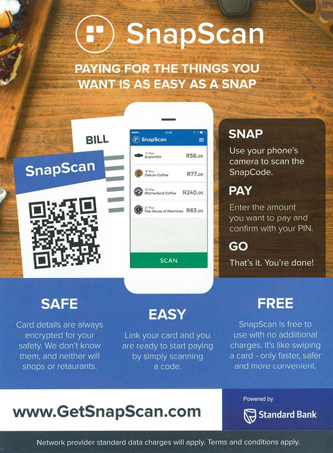 How To Pay With Snapscan